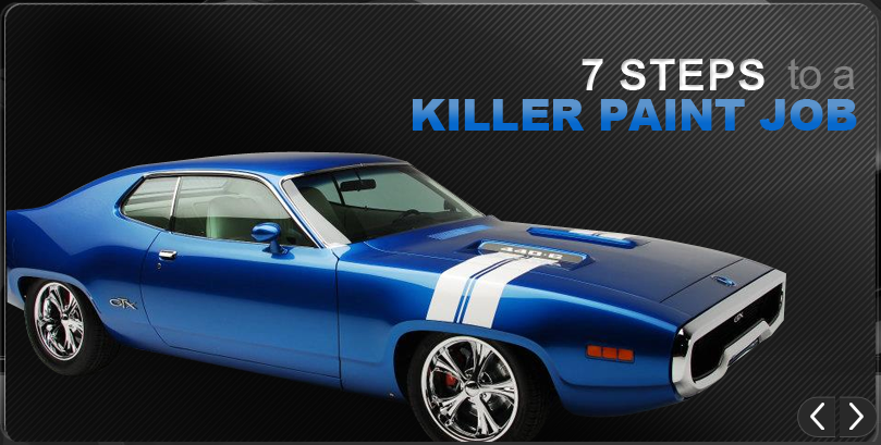 7 Steps to a Killer Paint Job