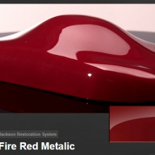 On Fire Red Metalic